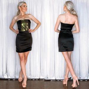 Kate Spade Black Metallic Mini Dress